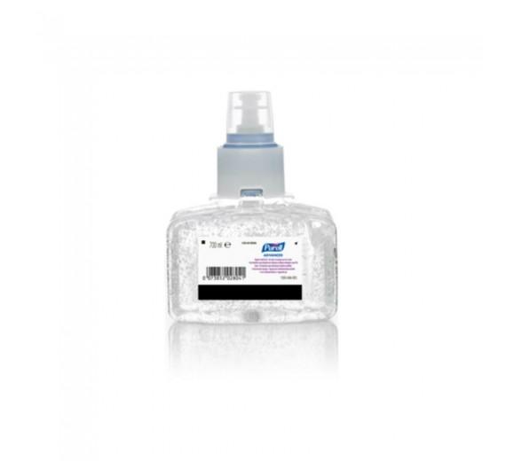 Purell hånddesinfektionsgel til LTX-7, 700 ml refill.