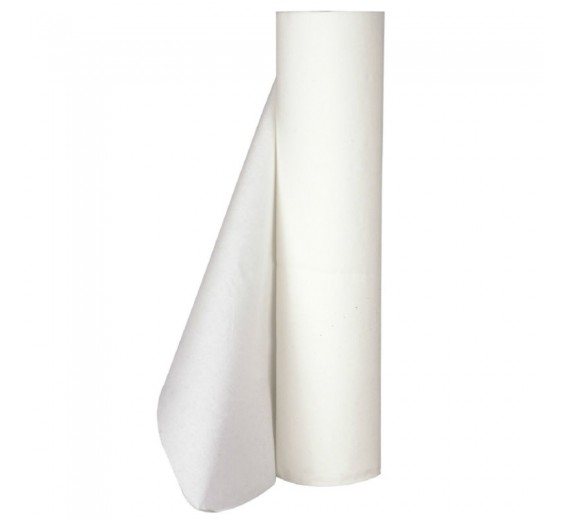 Dispenser til lejepapir, neutral, 65 cm, stål, Til lejepapir med max bredde på 60 cm.-02