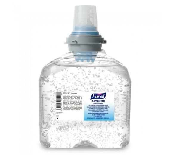 Purell hånddesinfektionsgel til TFX-12, 1200 ml refill.