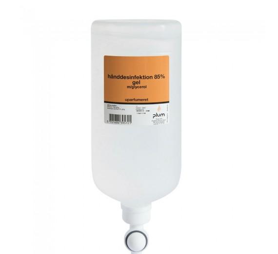 (Alternativ til Abena) Plum hånddesinfektion 85%, gel, 1000 ml flaske