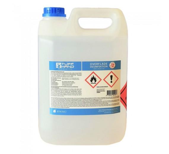 Overfladedesinfektion 85% alkohol, 5000 ml