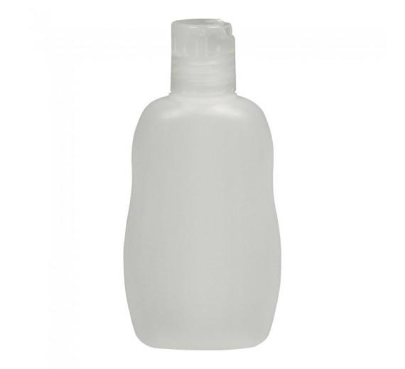 Flaske, 80 ml, til påfyldning af hånddesinfektion, 1 stk.