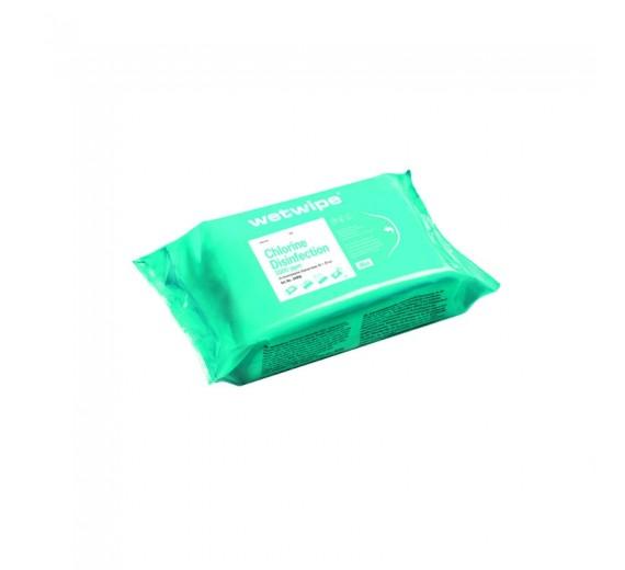 Wet Wipe desinfektionsklude med aktivt klor og tensid, Mini