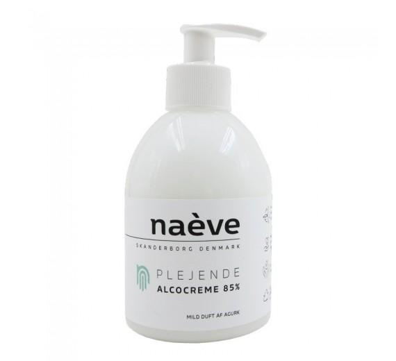 Naève Plejende Alcocreme 85%, 330 ml pumpeflaske