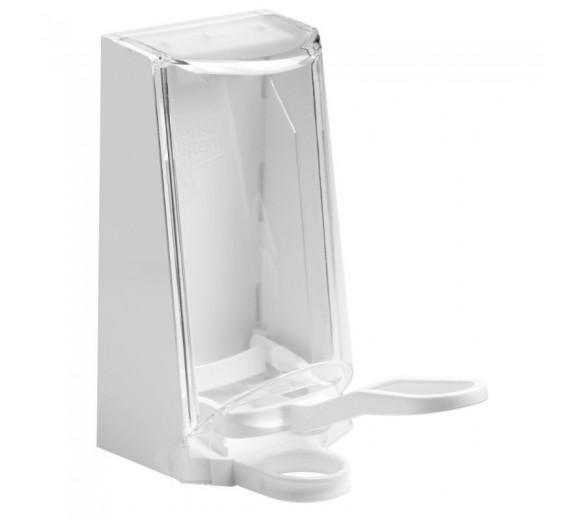 Sterisol dispenser med kappe, 0,7 l., plastarm.