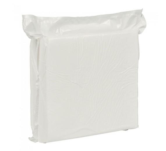 Skumvaskeklud, 19 x 19cm x 2,4 mm, hvid, engangs, 120 stk.