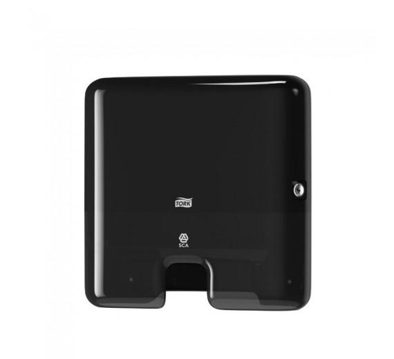 Tork H2 Xpress dispenser Multifold håndklædeark, sort mini.