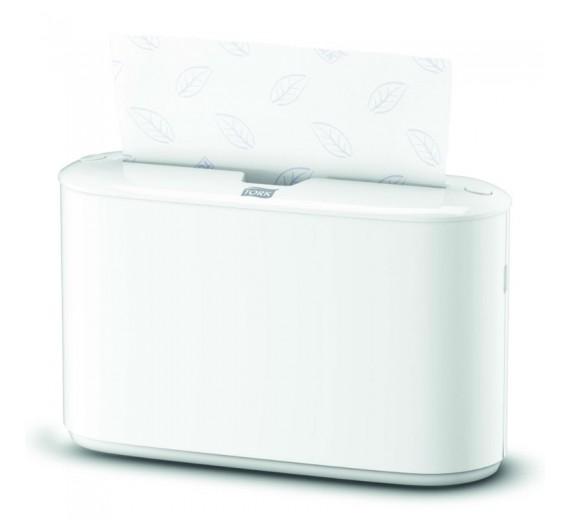 Tork Xpress borddispenser til Multifold Håndklædeark, H2, hvid