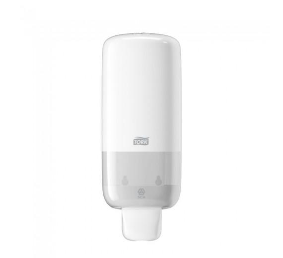 Tork S4 manuel dispenser til skumsæbe, hvid.