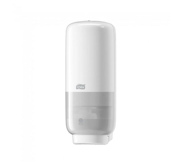Tork S4 dispenser til skumsæbe, med intuition sensor, hvid.