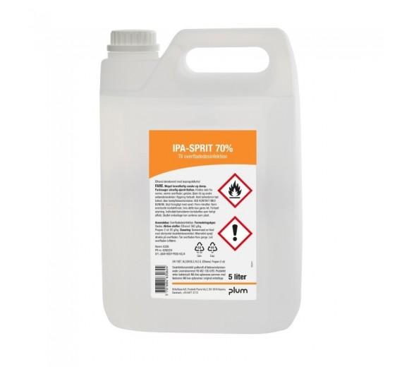 Plum overfladedesinfektion 70%, fødevaregodkendt, 5000 ml.