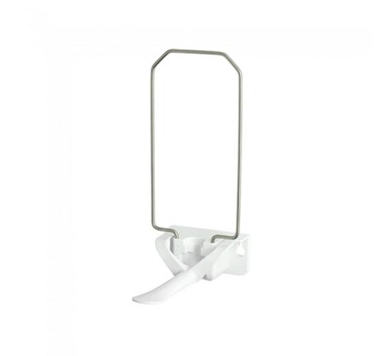 CombiPlum EASY ståldispenser 1,0 ltr., stål med hvid arm.