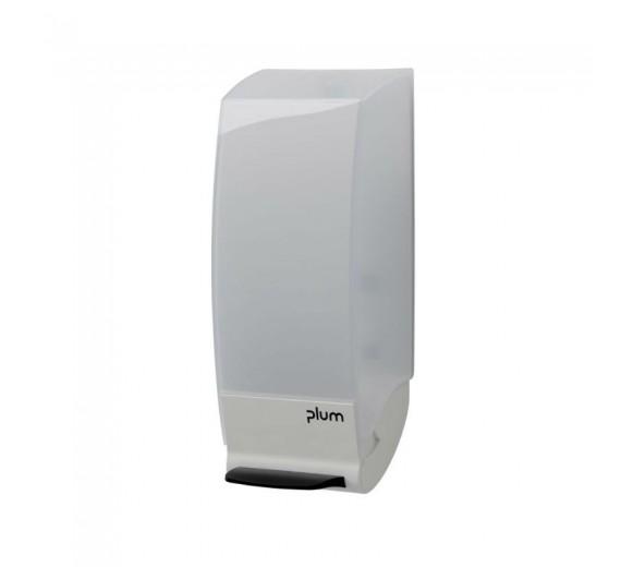 CombiPlum Plast 1,0 ltr., blank hvid. Manuel dispenser.