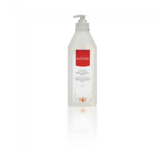 Dax Alcogel 85%, m/ glycerin, 600 ml pumpeflaske.