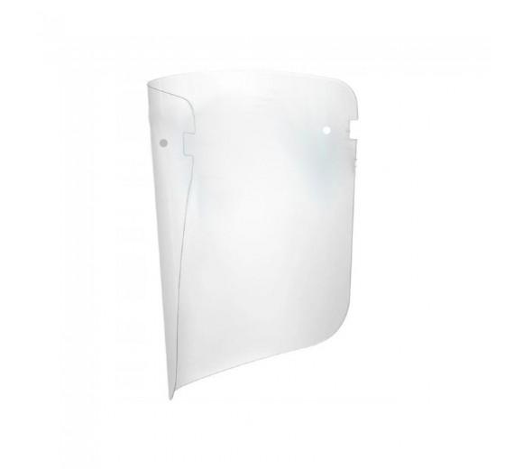 Ekstra faceshields, passer til Face shield visir med brille, pakke á 5 stk.