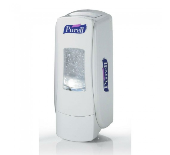 Purell ADX-7, manuel hånddesinfektionsdispenser, hvid plast, til 700 ml håndsprit refills