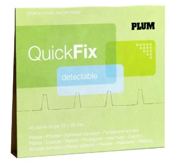 QuickFix - Detectable plasterrefill med 45 stk. plastre.