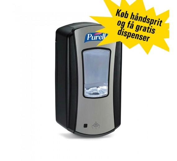 Purell kampagne: Purell håndsprit inklusive gratis dispenser