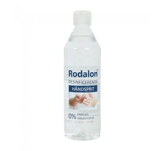 Hånddesinfektion, Rodalon, 500 ml, 70% ethanol, karton med 12 stk.