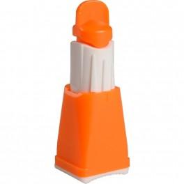 Fingerprikker, Vitrex Flex, orange, 28G, sikkerhedslancet, steril, m/ 3 stikdybder, engangs