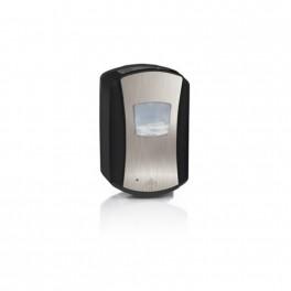 Elegant berøringsfri skumsæbe dispenser LTX-7. Sort/krom