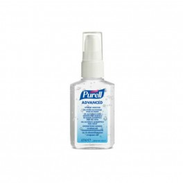 Purell hånddesinfektion gel, 60 ml lommeflaske.