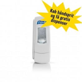 Purell kampagne: Purell håndsprit inklusive 2 gratis ADX dispensere