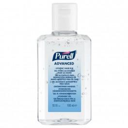 PURELL hånddesinfektion gel, 100 ml i flaske m/vippelåg