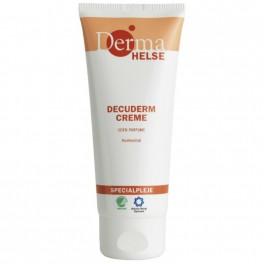 Derma Helse Decuderm hudcreme, 0% farve 0% parfume, 27% fedt, 100 ml