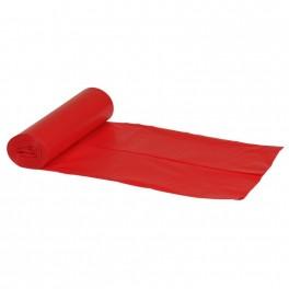 Sækko-Boy sæk, Abena Poly-Line Supersæk, 120 l, rød, LLDPE/virgin, 76 x 103 cm, 10 stk.