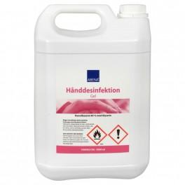 Abena hånddesinfektion, gel, 85% ethanol, 5000 ml