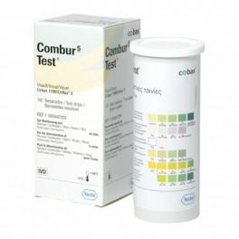 Combur 5 urintest, til visuel aflæsning