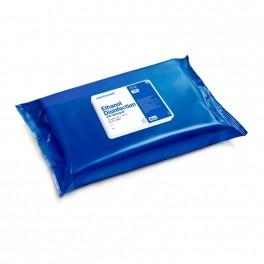 Wet Wipe Ethanol desinfektion, med Ethanol og tensid, Maxi