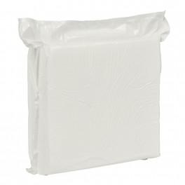 Skumvaskeklud, 19 x 19cm x 2,4 mm, hvid, engangs