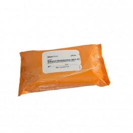 (Alternativ til Wet Wipe 51133) Ethanol disinfection, WipeClean 80%, small, 25 stk.-20