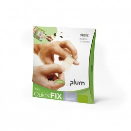 QuickFix Mini - plasterdispenser med 30 stk. elastic plastre.