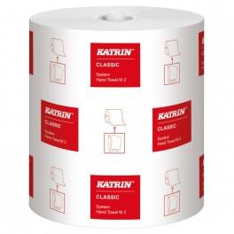 Håndklæderulle Katrin Classic System M2, 2-lag, 170 m, 6 ruller