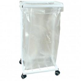 Affaldsstativ 100 ltr uden låg, hvid
