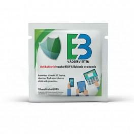 Antibakterielle Ethanolservietter til desinfektion, enkeltindpakkede, 80%, 1000 stk.