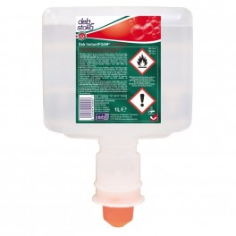Hånddesinfektion, Deb InstantFOAM Complete, 1000 ml, 80% ethanol, til touchfree dispenser