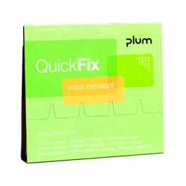 QuickFix - Water resistant plasterrefill inklusive 45 stk. plastre.