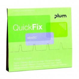 QuickFix - Elastic plasterrefill med 45 stk. plastre.