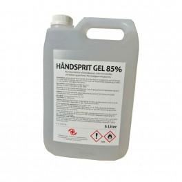 MedicoPart Håndsprit 85%, gel, 5 liter dunk