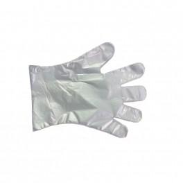 PE handsker, fødevaregodkendt, størrelse L, 100 stk.