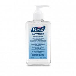Purell hånddesinfektion gel, 70% ethanol med glycerin, 300 ml med pumpe