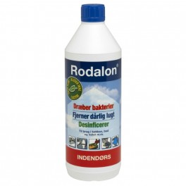 Rodalon indendørs desinfektion, 2%, klar, 1000 ml.