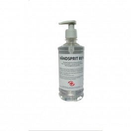 **OUTLET** Håndsprit 85% i pumpeflaske, flydende, MedicoPart, 500 ml