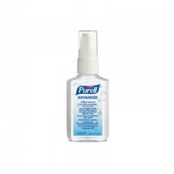 Purell hånddesinfektion gel, 60 ml lommeflaske.