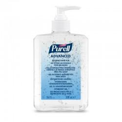 PURELL hånddesinfektion gel, 500 ml i flaske m/pumpe