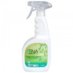 ENA biologisk lugtfjerner, klar-til-brug, uden farve - med parfume, 750 ml. med spray.